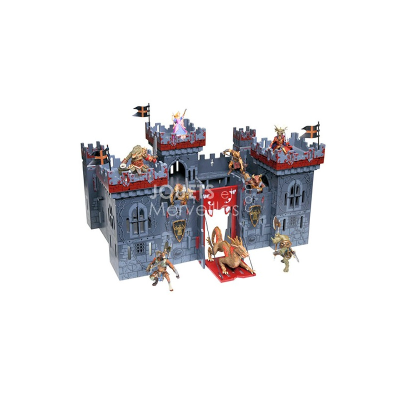 ch teau fort papo 60052 le ch teau des mutants jouets et merveilles. Black Bedroom Furniture Sets. Home Design Ideas