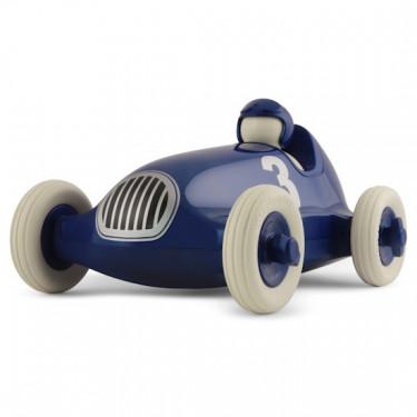 Voiture de course Playforever bleu métal 'Bruno'