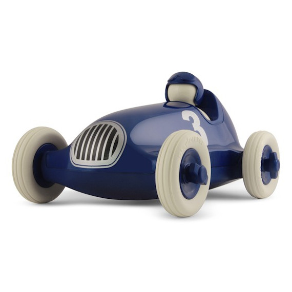 Voiture de course Playforever bleu métal