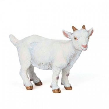 Chevreau blanc, figurine PAPO 51146