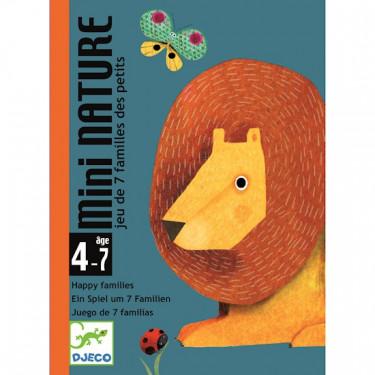 Mini Nature jeu des 7 familles DJECO DJO5128