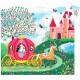 Le carosse d'Elise, puzzle 54 pcs silhouette DJECO 7254