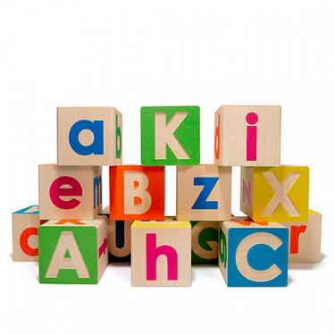 Cubes alphabet Majuscules/Minuscules Uncle Goose