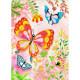 Papillons à paillettes, Tableaux à pailleter DJECO 9503
