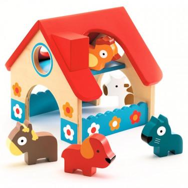 La petite ferme, jouet d'éveil DJECO 6388