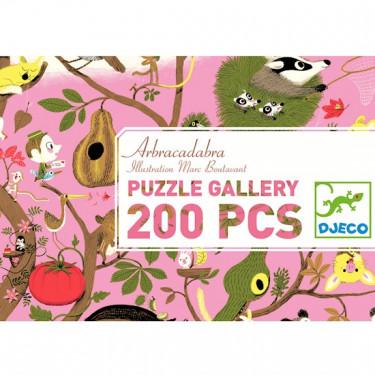 Puzzle abracadabra 200 pcs DJECO 7602