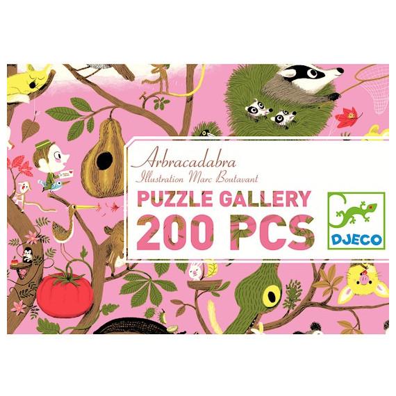 Puzzle arbracadabra 200 pcs DJECO 7602