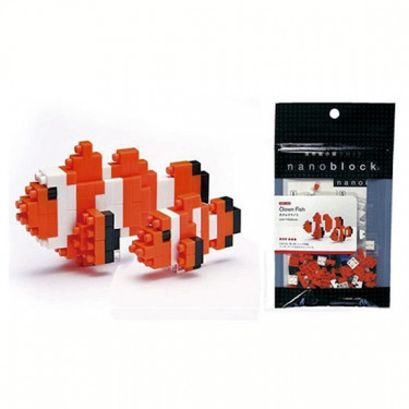 poisson clown nanoblock