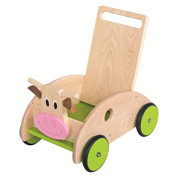 Chariot de marche vache SCRATCH