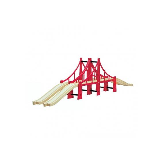 Double pont suspendu, train Brio 33683
