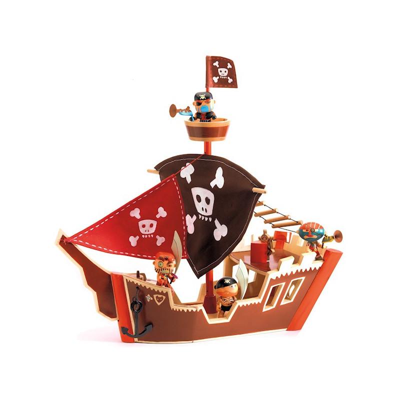 Bateau pirate arty toys djeco 6830 - Image bateau pirate ...