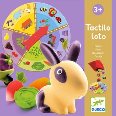 Tactilo Loto Ferme, DJECO 8135