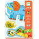 Coloriage pour les petits-Zoo Zoo DJECO 8990
