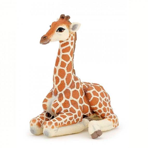 Bébé girafe couché PAPO 50150