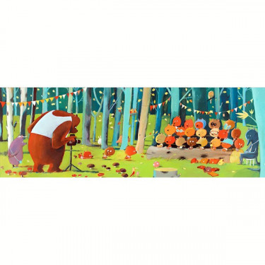 Puzzle Forest friends 100 pcs DJECO 7636