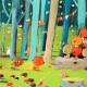 Puzzle Forest friends 100 pcs DJECO 7636