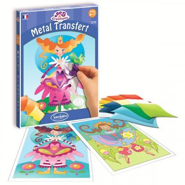 METAL TRANSFERT Princesses, Art et Créations Sentosphère 3130