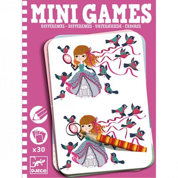 Les différences de Léa, Mini Games DJECO 5307