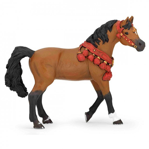 Cheval arabe en tenue de parade, PAPO 51547