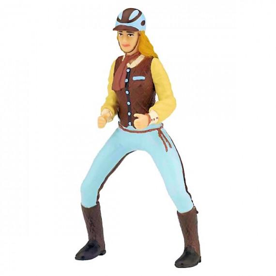 Cavalière fashion bleue PAPO 52009