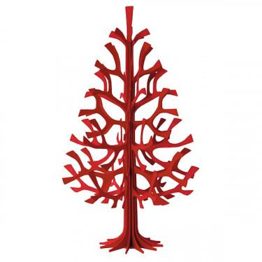 Sapin LOVI 30cm rouge