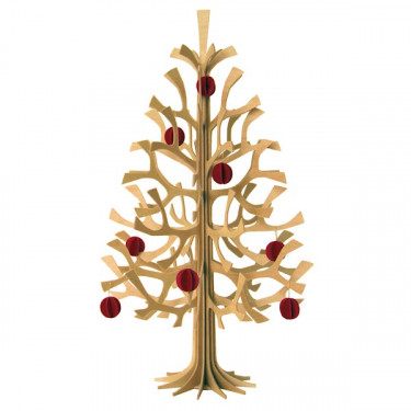 Sapin de Noël LOVI 30cm naturel