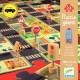 Puzzle circuit de voitures 'La ville' DJECO 7161