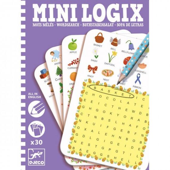 MINI LOGIX Mots Mêlés Anglais DJECO 5351