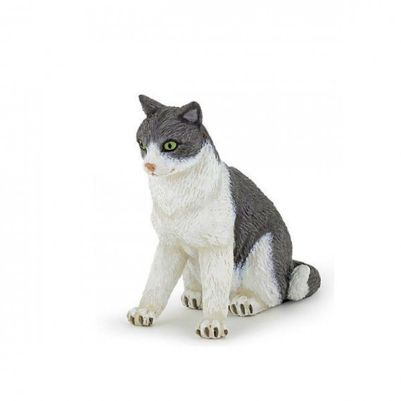 Chatte assise, figurine PAPO 54033