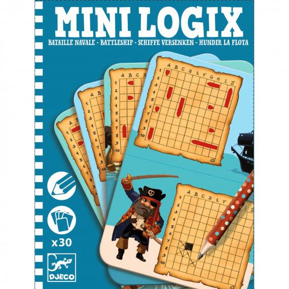 MINI LOGIX Bataille Navale DJECO 5355