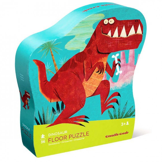 Dinosaures, puzzle 36 pcs CROCODILE CREEK