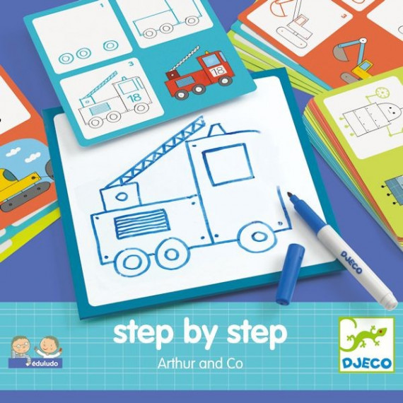 "STEP by STEP ""Arthur & Co"", construire une image DJECO 8321"