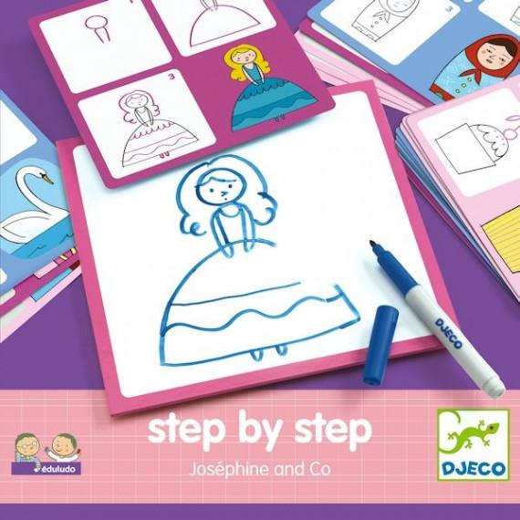 "STEP by STEP ""Joséphine & Co"", construire une image DJECO 8320"