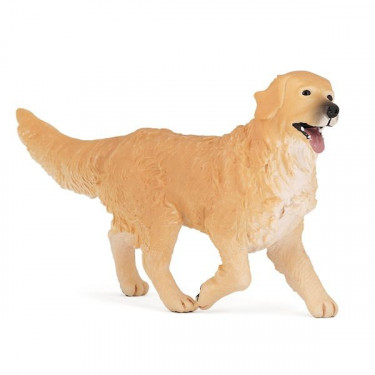 Chien golden retriever, figurine PAPO 54014