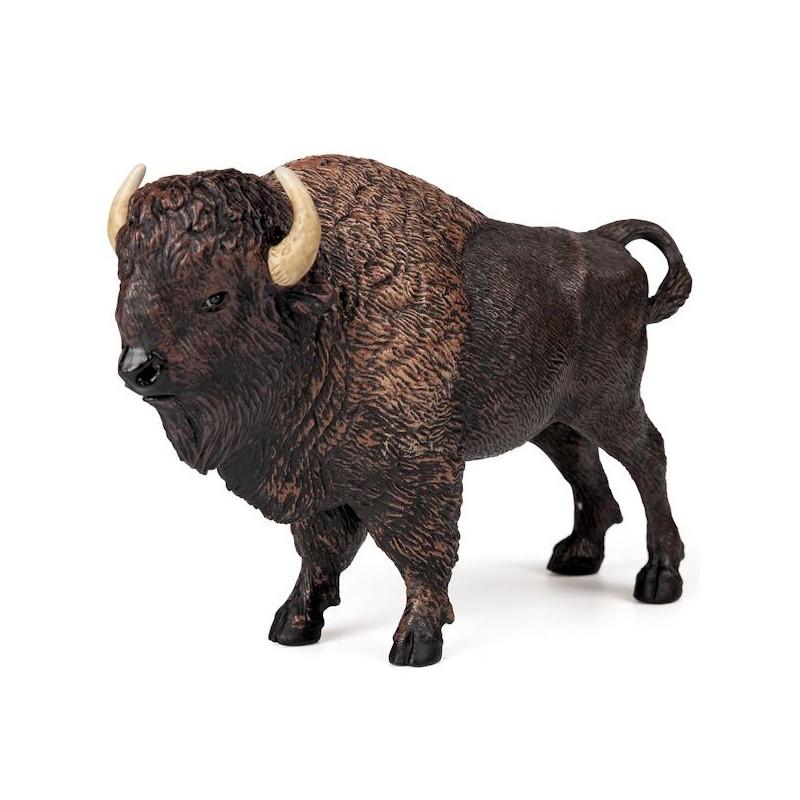 Bison d 39 am rique papo 50119 - Coloriage bison d amerique ...