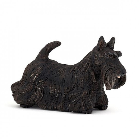 Scottish terrier noir, figurine PAPO 54032