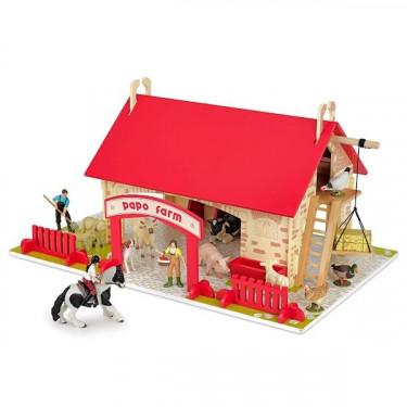 Ma 1ère Ferme, jouet en bois PAPO 60106