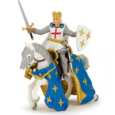 Saint Louis et son cheval PAPO 39841