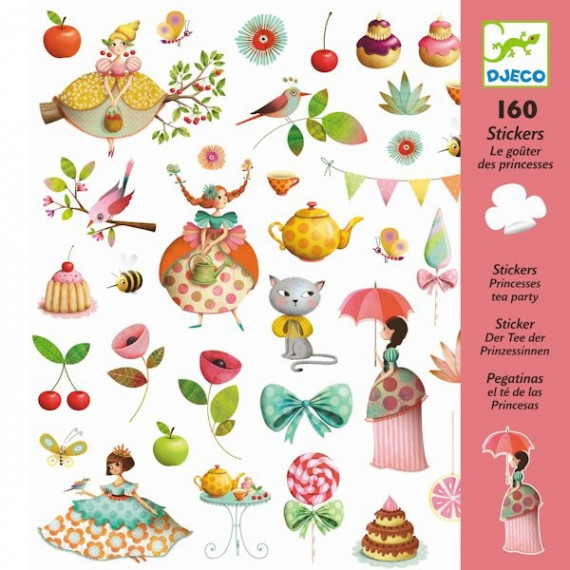Stickers 'Le goûter des princesses' Djeco 8884