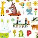 1000 stickers pour les petits Djeco 8950