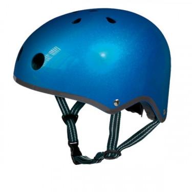 Casque micro® bleu métal