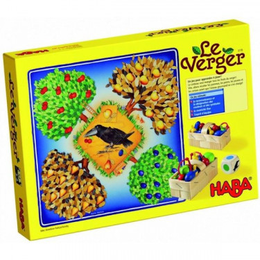 Le verger, jeu HABA 3170