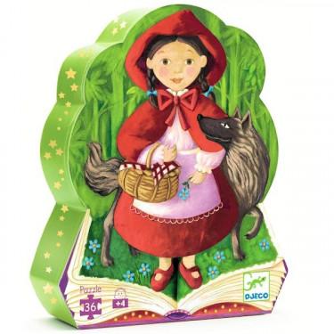 Puzzle Djeco Le petit chaperon rouge 36 pcs 7230