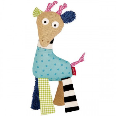 Peluche doudou SIGIKID girafe 40684