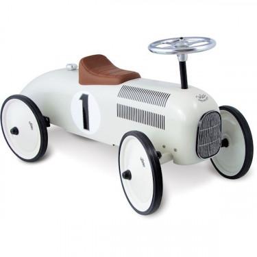 Porteur voiture Vilac blanc 1102