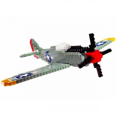 Avion de guerre Mustang P51 nanoblock