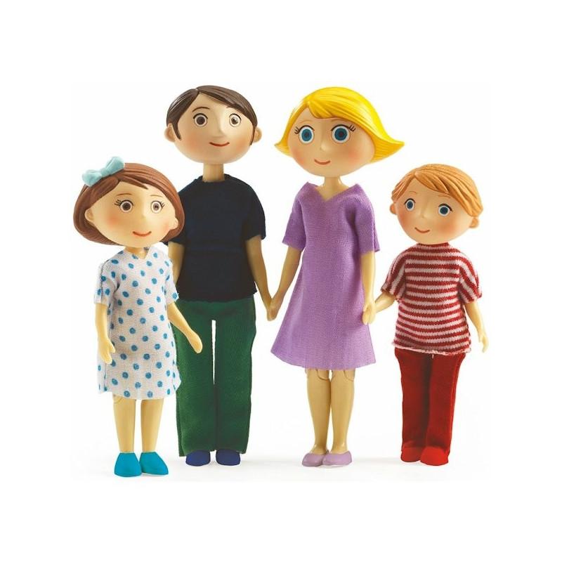 Poup es djeco 7811 39 la famille de gaspard romy 39 jouets for Maison de la poupee