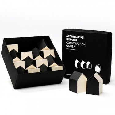 Cubes archiblocks house noir Cinqpoints