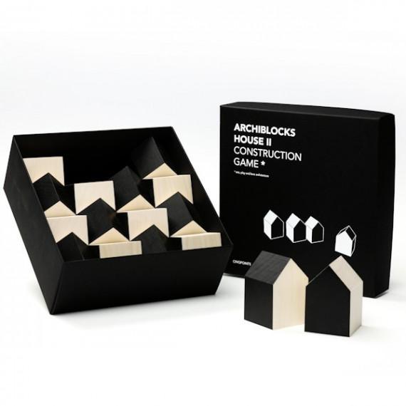 Cubes archiblocks house noir Cinqpoints