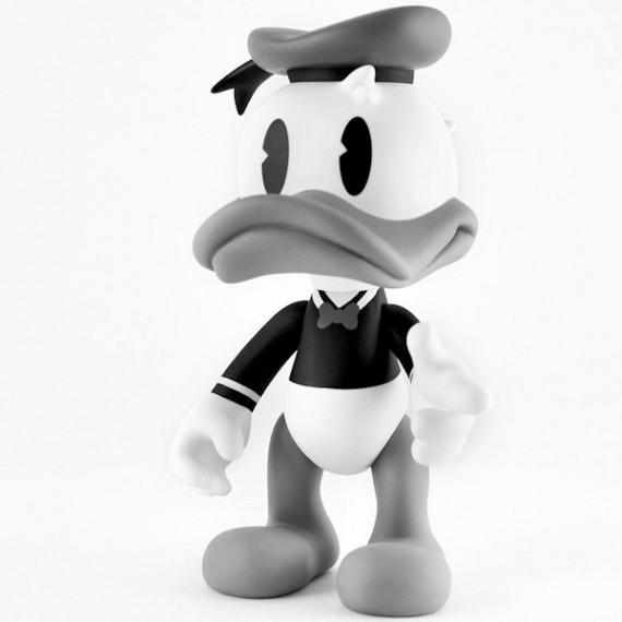 ARTOYZ Donald noir & blanc Leblon Delienne